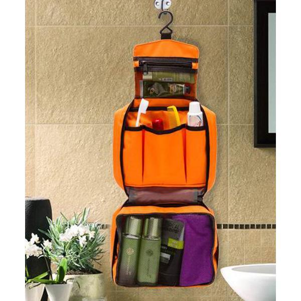 旅行 吊り下げられるトラベルポーチバッグインバッグの画像