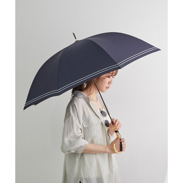 傘 【タッセル付き】バンブーハンドルアンブレラ