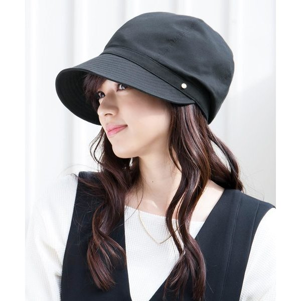 帽子キャスケットイロドリ洗えるUVキャスケットマニフィック帽子レディース全11色irodori