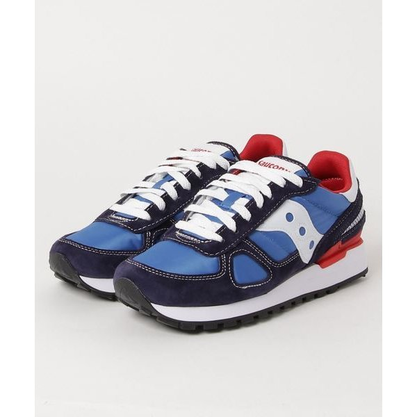 スニーカー SAUCONY サッカニー SHADOW ORIGINAL W.C S70431-2 NAVY/RED