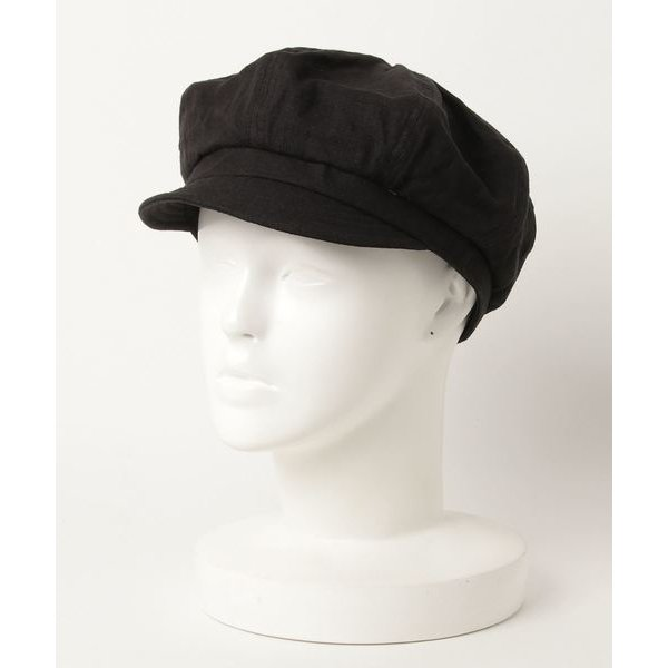 帽子キャスケット SIOriginal LINENCASコットンリネン無地キャスケット帽