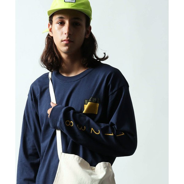 """Park Deli×MIKE PERRY/パークデリ×マイク ペリー """"PATCH"""" Long Sleeve T-Shirt/ロンT"""