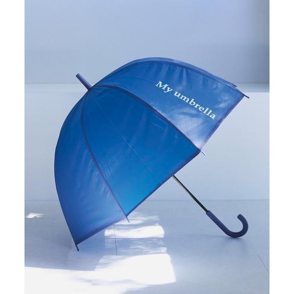 傘 《再入荷・新色追加》ロゴ入りドーム型アンブレラ 雨傘