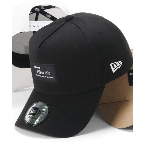 帽子キャップオンスポッツ別注ニューエラキャップスナップバック9FORTYA-FRAMEBLACKPATCHNEWERA