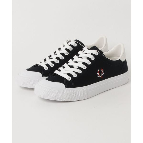FRED PERRY BREAUX VULCA CANVAS (NAVY)