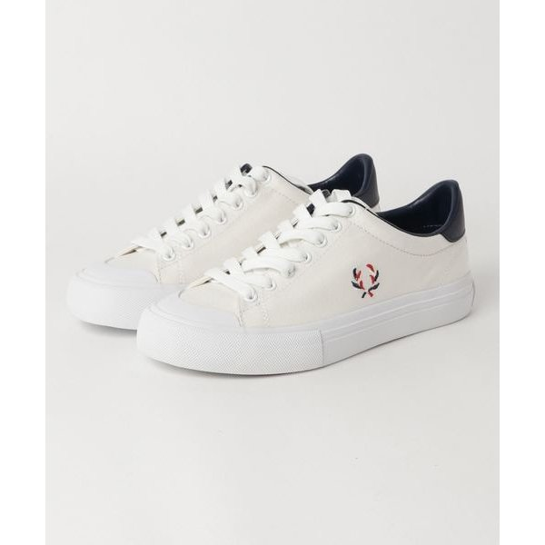 FRED PERRY / BREAUX VULCA CANVAS (WHITE)