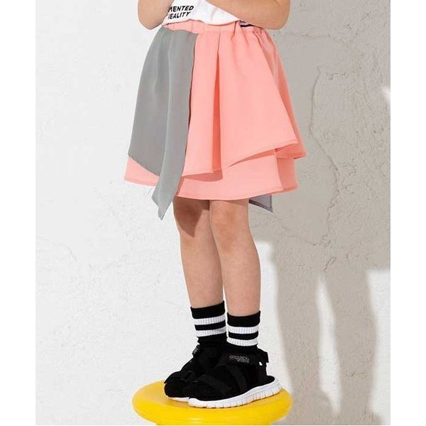 スカート /NET別注 バイカラースカート