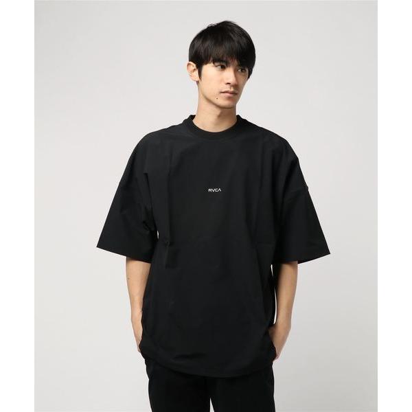tシャツ Tシャツ RVCA メンズ  SMALL NEW WORLD SS セットアップTシャツ/ルーカ ドロップショルダー  オーバーサイズ