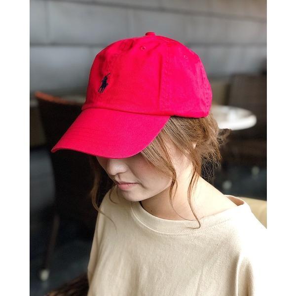 帽子キャップPOLORALPHLAURENポロラルフローレンストラップバックキャップCottonClassicHat