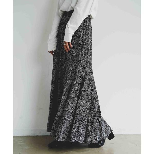 スカート INTER FACTORY フレアロングスカート