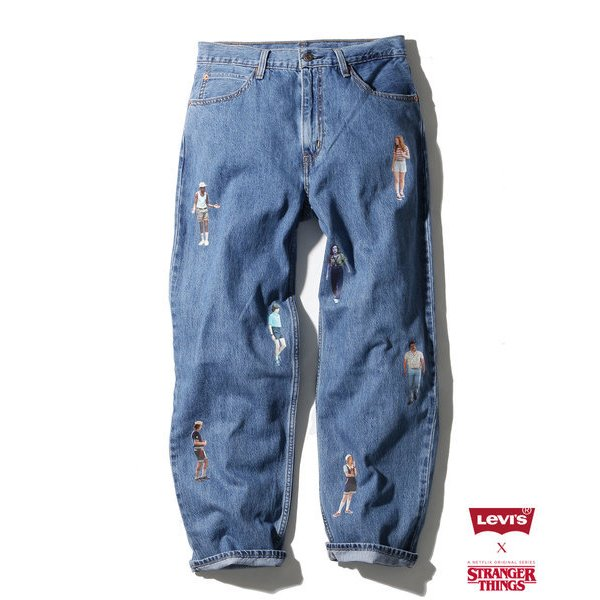 Levi's(R) x Stranger Things DAD JEAN JOE STONED