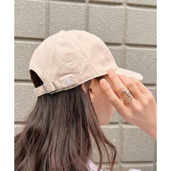 帽子キャップ CHAMPION クラシックウォッシュドコットンキャップClassicWashedTwillCap