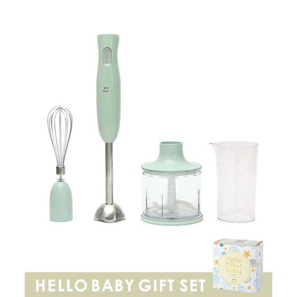 【限定スリーブ付き】マルチスティックブレンダー HELLO NEW BABY GIFT