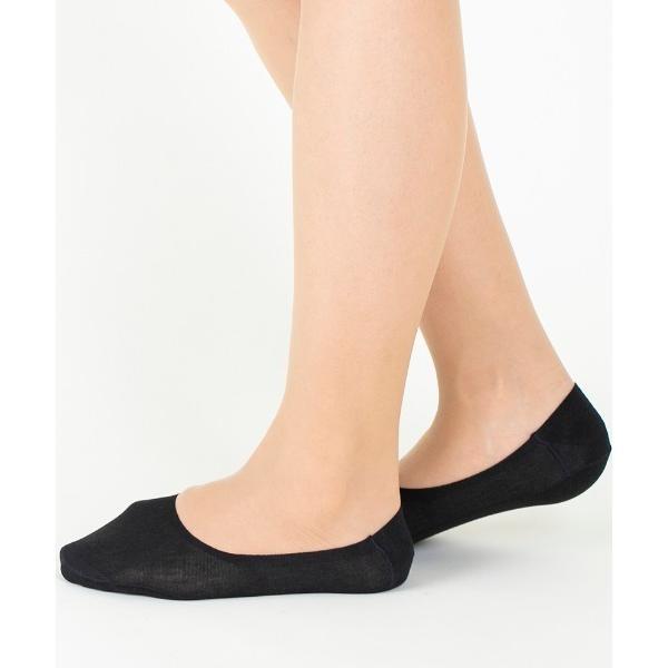 靴下 Tuche レディースフットカバー丈夫で脱げない(深履き)