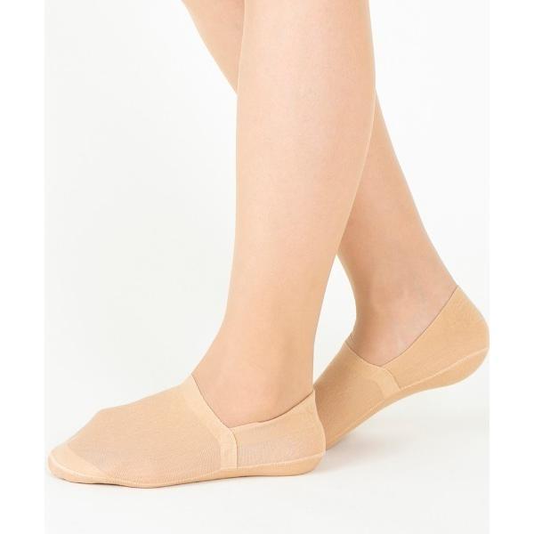 靴下 Tuche レディースフットカバー丈夫で脱げない(超深履き)