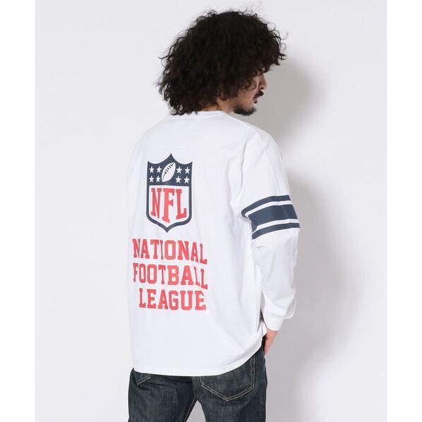 tシャツ Tシャツ 【×NFL】ロングスリーブ フットボール Tシャツ/NFL LS FOOTBALL T-SHIRT