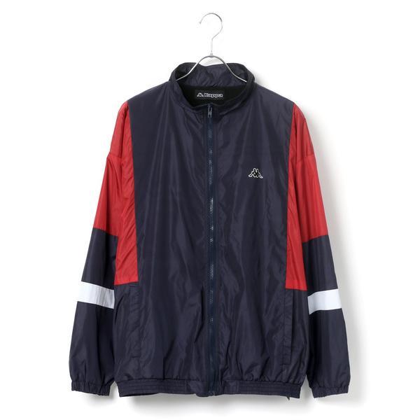 ジャケットナイロンジャケットKappa/カッパオーバーサイズトラックジャケット/ナイロンジャケット
