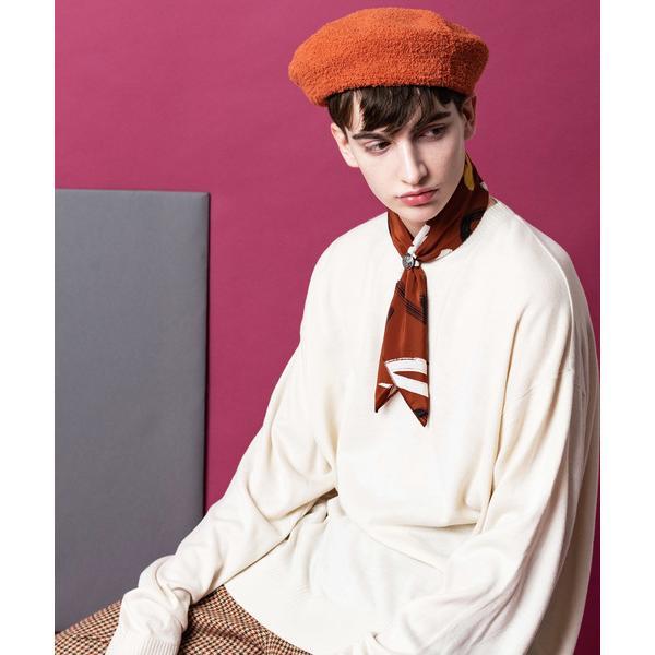 帽子キャスケットパイル起毛ベレー帽