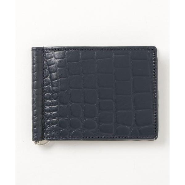 財布カウレザー型押しレザービルフォールド