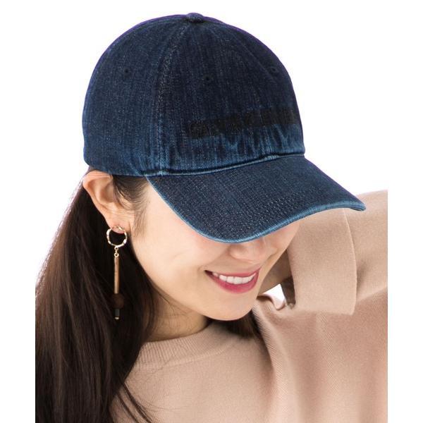 帽子キャップカルバンクラインキャップスナップバックウォッシュデニムウォッシュ加工CALVINKLEIN