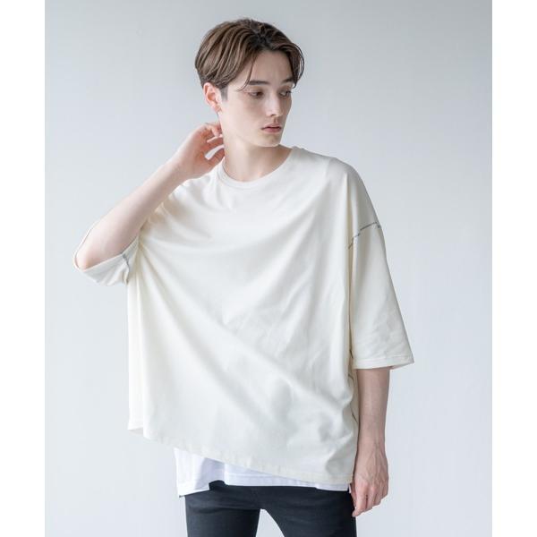 tシャツ Tシャツ INTER FACTORY - 鹿の子ステッチビッグTシャツ