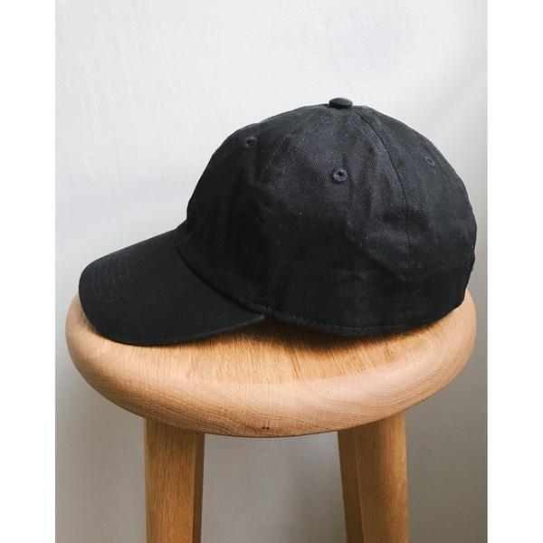 帽子キャップnewhattan(ニューハッタン)/STONEWASHEDTWILLCAPウォッシュドツイルローキャップ/無地/ワ