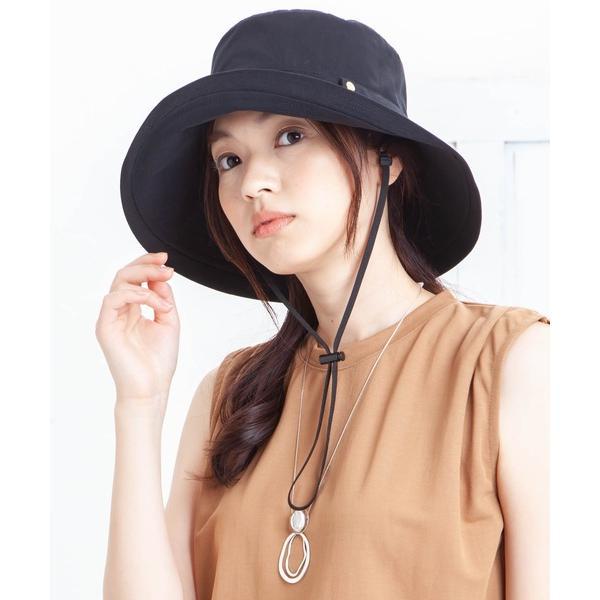 帽子ハットイロドリレディース帽子LADYSAつば広UVハット