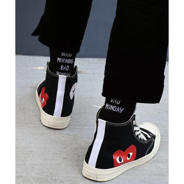 靴下 HealthknitProduct ヒールメッセージロングソックスHEELMESSAGELONGSOCKS/182-337