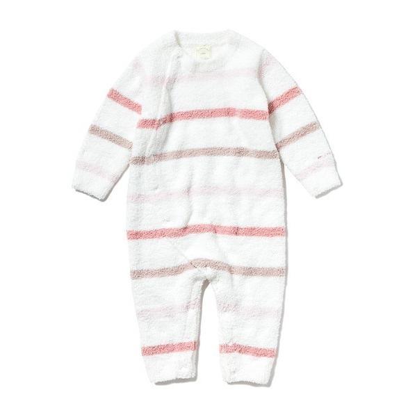 【BABY】'ベビモコ'マルチボーダー baby ロンパース