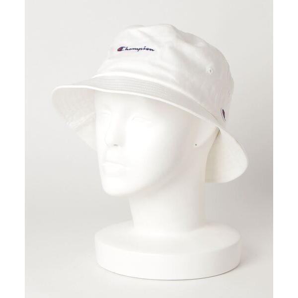 帽子ハット CHAMPION/チャンピオン スクリプトバケットハットブランドロゴ刺繍