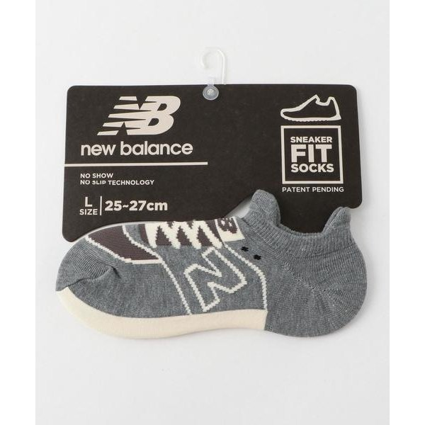 靴下 New Balance(ニューバランス)スニーカーモチーフソックス