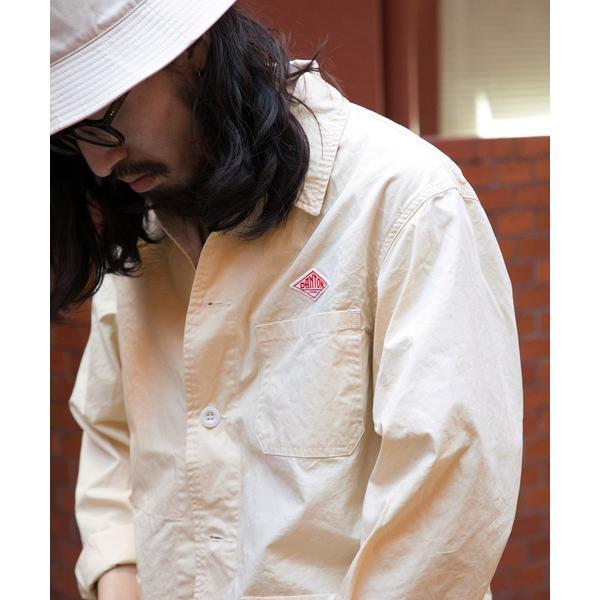 ジャケット カバーオール DANTON×DOORS 別注 カバーオールジャケット