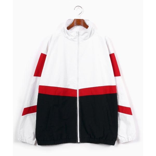 ジャケットナイロンジャケットオーバーサイズナイロンレトロスポーツトラックジャケット/アクティブジャケット