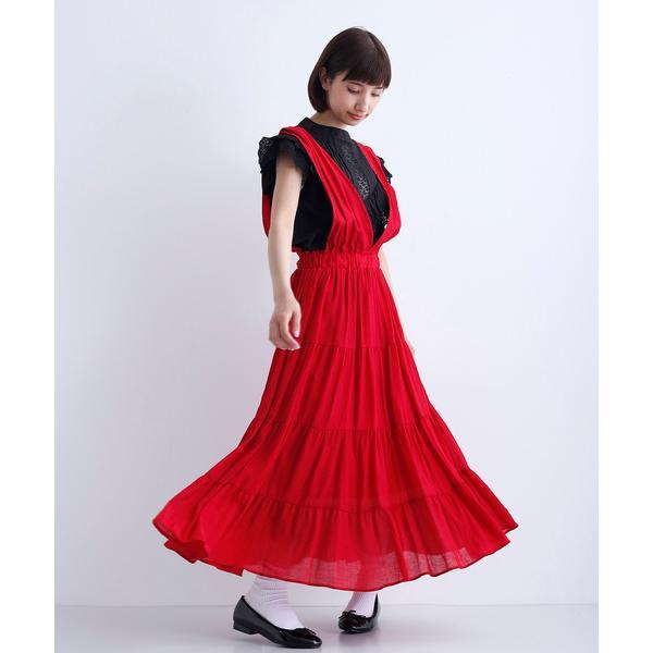 ワンピースジャンパースカートサロペットスカート