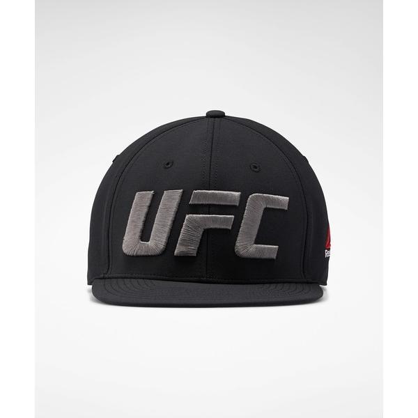 帽子 キャップ UFC ファイト ナイト フラット ピーク キャップ[UFC Fight Night Flat Peak Cap]リーボック