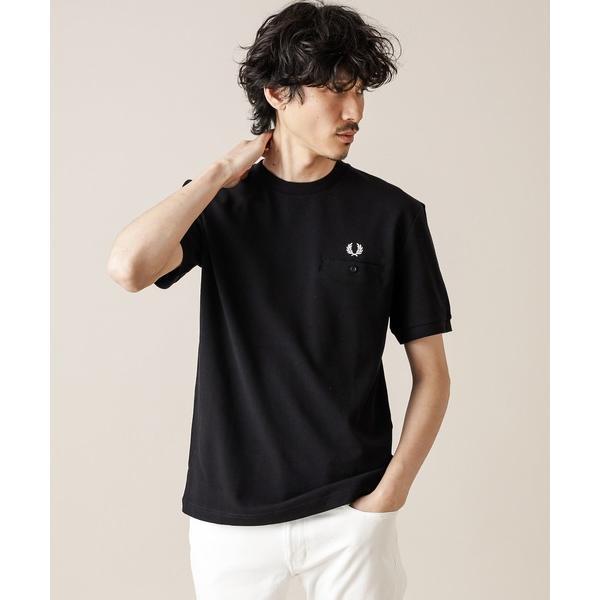 【FRED PERRY/フレッドペリー】 POCKET DETAIL PIQUE T-SHIRT/ポケットピケTシャツ
