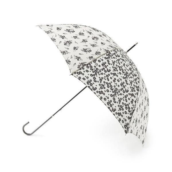 傘 because ミニフラワー柄アンブレラ(長傘)