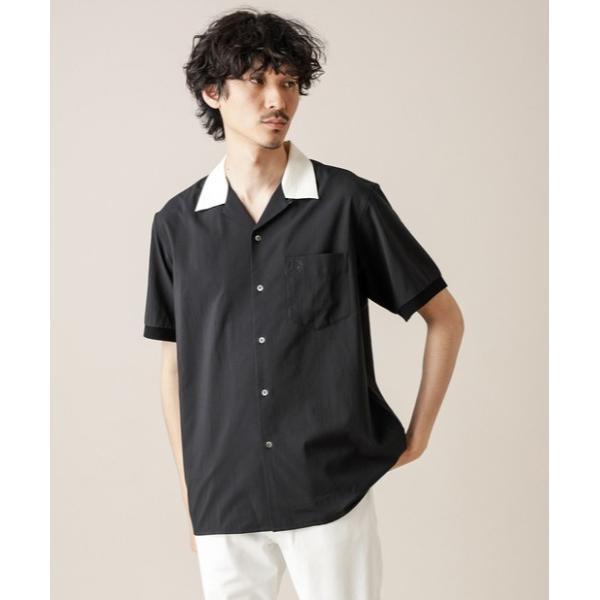 【FRED PERRY/フレッドペリー】REVERE COLLAR SHIRT /衿配色オープンカラーシャツ