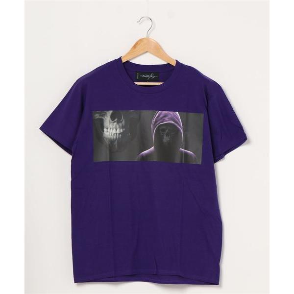 SKULL WEB Tシャツ