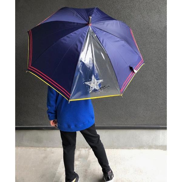 傘 NT:シルバースターライン キッズアンブレラ