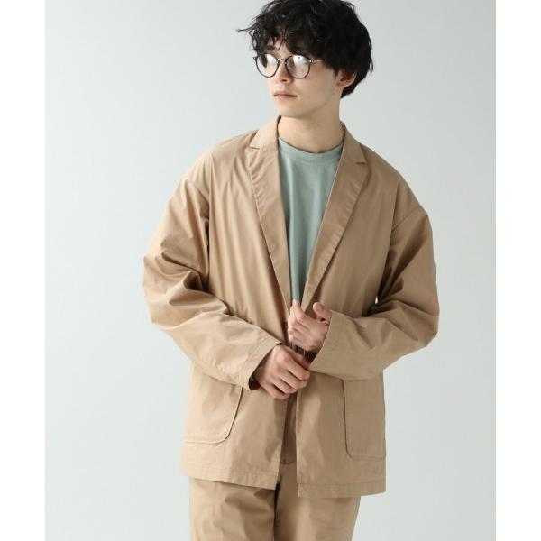 ジャケット テーラードジャケット 【セットアップ着用可能】TCシャツテーラードジャケット/871859