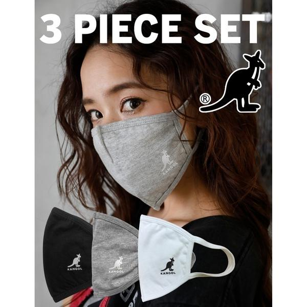 KANGOL  マスク 3枚セットの画像