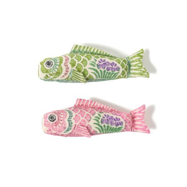 おもちゃ真工藝/木版手染めぬいぐるみ鯉のぼり(こども)