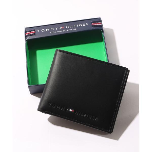 財布 TOMMYHILFIGER/トミーヒルフィガー レザーコンパクトウォレット