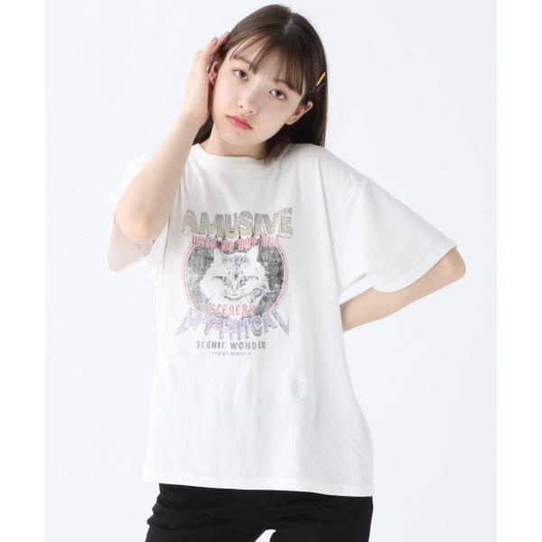 ネコロックTシャツ