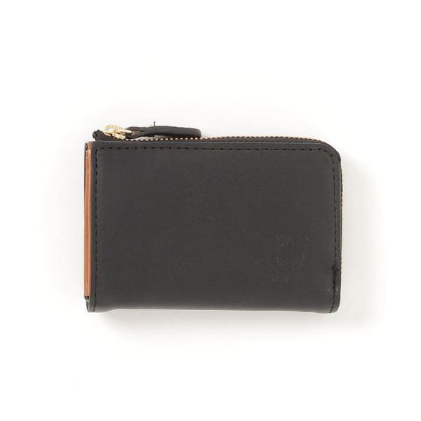 財布 ワールドレザー (KMN)イタリアンレザーL字ファスナーミニ財布