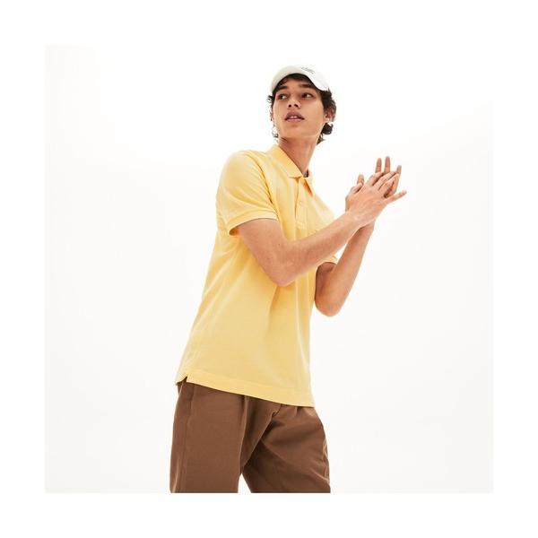 ポロシャツレギュラーフィットペールカラーポロシャツ(半袖)