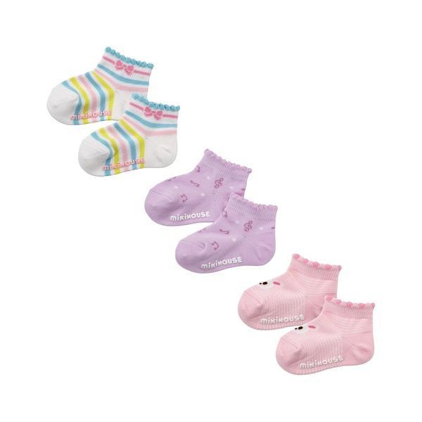 靴下ローカットソックスパック3足セット(11-17cm)