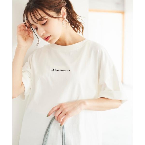 tシャツTシャツWEB別注 KANGOLEXTRACOMFORT(カンゴールエクストラコンフォート) 裾ラウンドチュニックTシャ