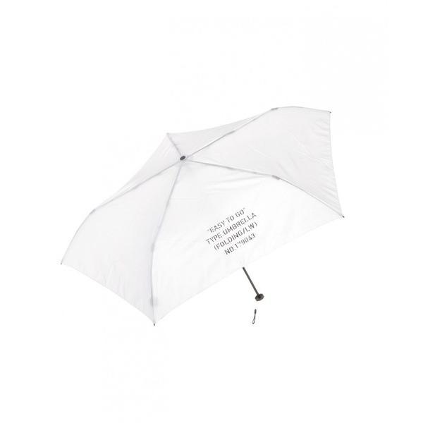 折りたたみ傘 軽量 ロゴ折りたたみ傘/LAKOLE
